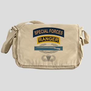 SF Ranger CIB Airborne Messenger Bag