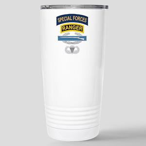 SF Ranger CIB Airborne Stainless Steel Travel Mug