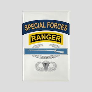 SF Ranger CIB Airborne Rectangle Magnet