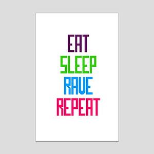 Eat Sleep Rave Repeat Posters