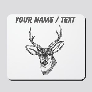 Custom Stag Sketch Mousepad