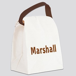 Marshall Fall Leaves Canvas Lunch Bag