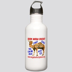 MegaBucks Camel Stainless Water Bottle 1.0L