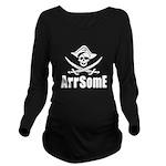 Arrsome Long Sleeve Maternity T-Shirt