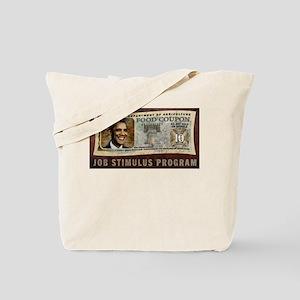 Food Stamp Obama Tote Bag