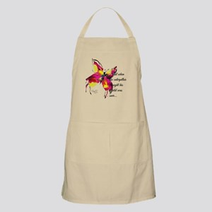 Just when he thought his world was over... Apron