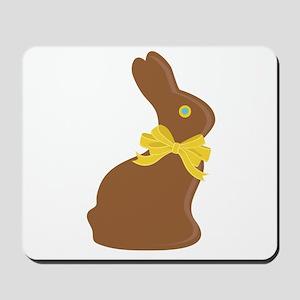 Chocolate Bunny Mousepad