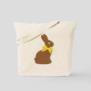 Chocolate Bunny Tote Bag
