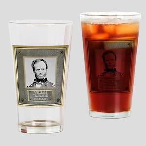William Tecumseh Sherman Drinking Glass