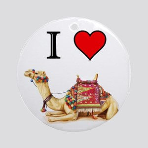 CAMEL Round Ornament