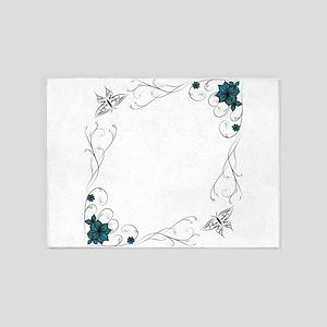 Greetingcard 5'x7'Area Rug