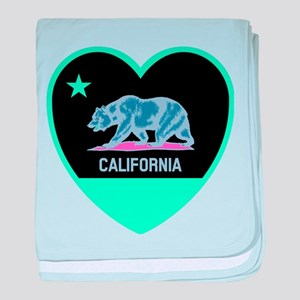Love California - Bright baby blanket