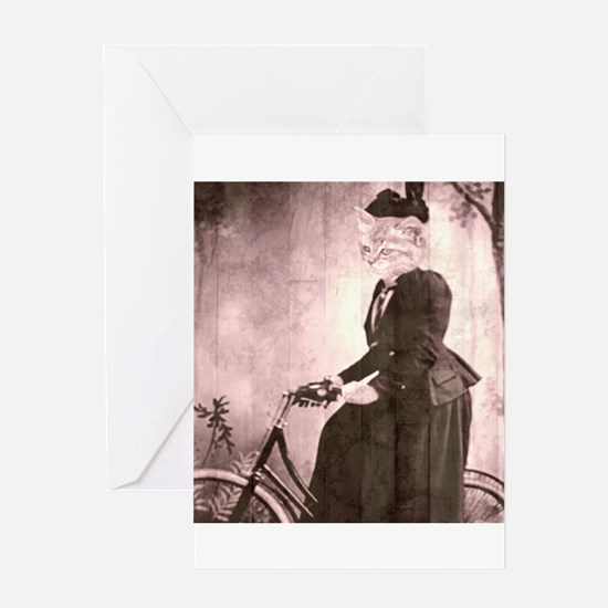 afternoon ride Greeting Cards