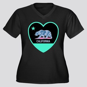 Love California - Bright Plus Size T-Shirt