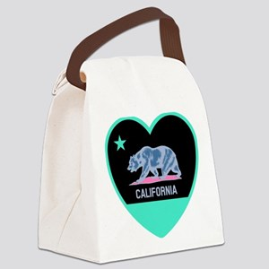 Love California - Bright Canvas Lunch Bag