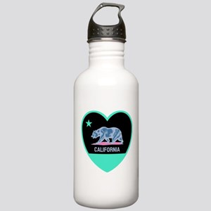Love California - Bright Water Bottle