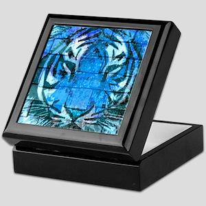Blue Cat Keepsake Box
