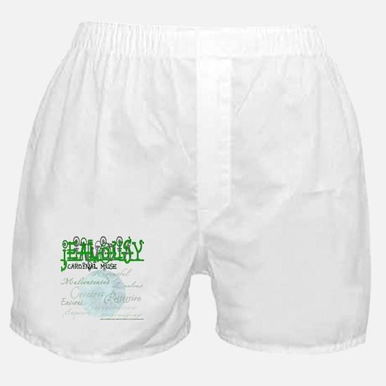 Invidia - Envy / Jealousy Boxer Shorts