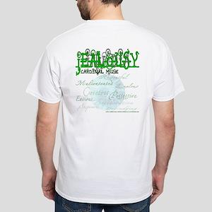 Invidia - Envy / Jealousy White T-Shirt