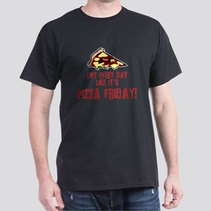 Pizza Friday v2 Dark T-Shirt