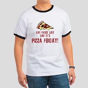 Pizza Friday v2 Ringer T