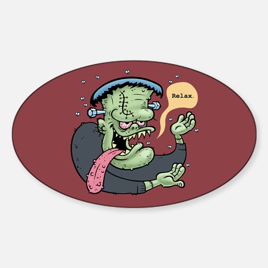 Franky Said So Sticker (Oval)