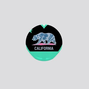Love California - Bright Mini Button