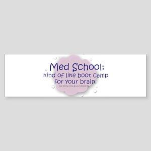 Med School Boot Camp Bumper Sticker