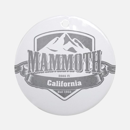 Mammoth California Ski Resort 5 Ornament (Round)