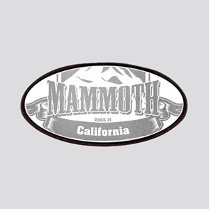Mammoth California Ski Resort 5 Patches
