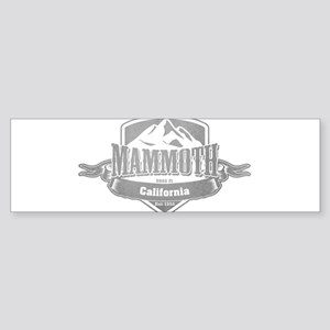 Mammoth California Ski Resort 5 Bumper Sticker