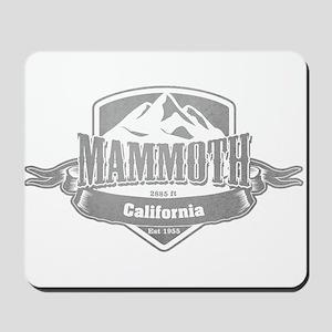 Mammoth California Ski Resort 5 Mousepad