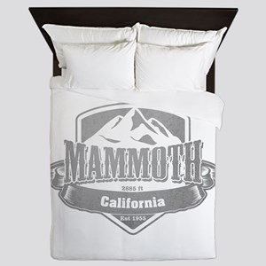 Mammoth California Ski Resort 5 Queen Duvet