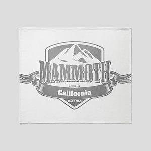 Mammoth California Ski Resort 5 Throw Blanket