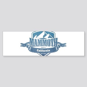 Mammoth California Ski Resort 1 Bumper Sticker