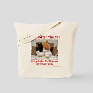 Litty Kitter - Shelter Pet Tote Bag