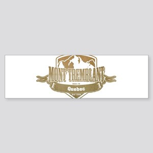 Mont Tremblant Quebec Ski Resort 4 Bumper Sticker