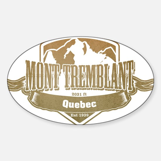 Mont Tremblant Quebec Ski Resort 4 Decal