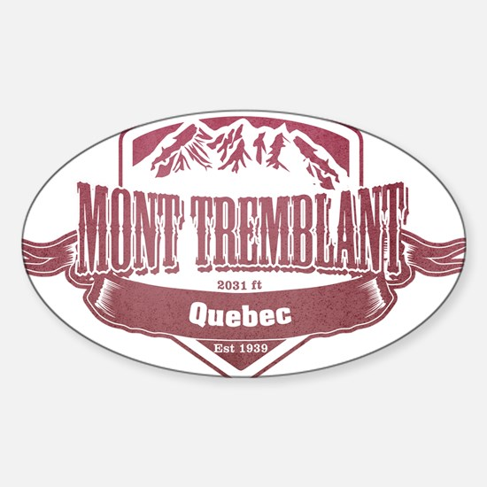 Mont Tremblant Quebec Ski Resort 2 Decal