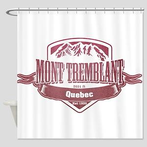 Mont Tremblant Quebec Ski Resort 2 Shower Curtain