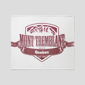 Mont Tremblant Quebec Ski Resort 2 Throw Blanket