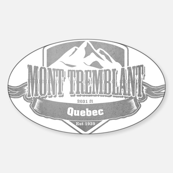 Mont Tremblant Quebec Ski Resort 5 Decal