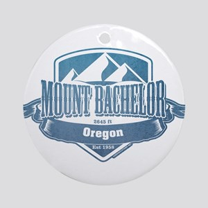 Mount Bachelor Oregon Ski Resort 1 Ornament (Round