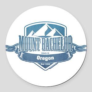 Mount Bachelor Oregon Ski Resort 1 Round Car Magne