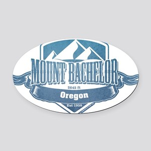 Mount Bachelor Oregon Ski Resort 1 Oval Car Magnet