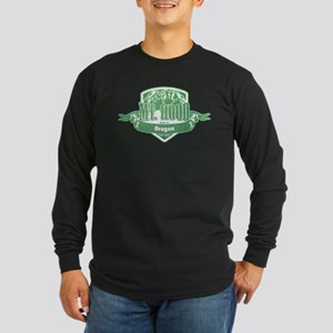 Mt Hood Oregon Ski Resort 3 Long Sleeve T-Shirt