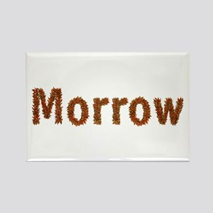 Morrow Fall Leaves Rectangle Magnet
