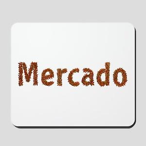 Mercado Fall Leaves Mousepad