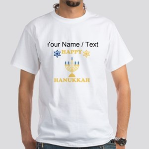 Custom Happy Hanukkah T-Shirt