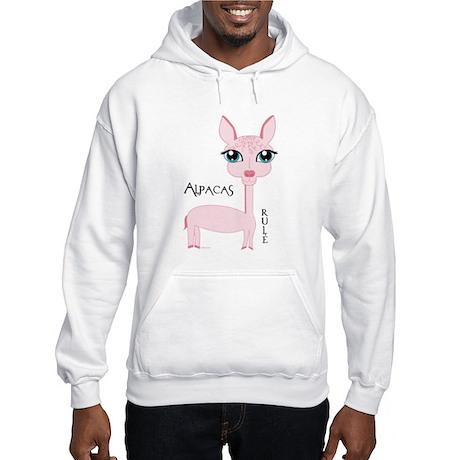 Alpacas Rule Suri Hooded Sweatshirt